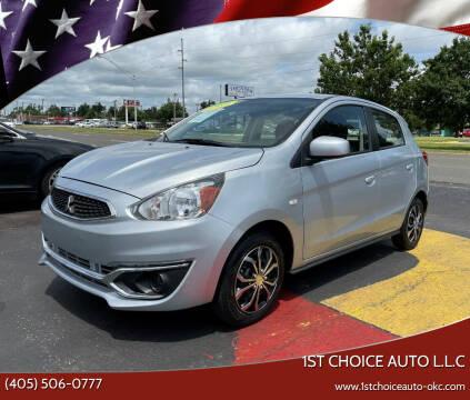2018 Mitsubishi Mirage for sale at 1st Choice Auto L.L.C in Oklahoma City OK