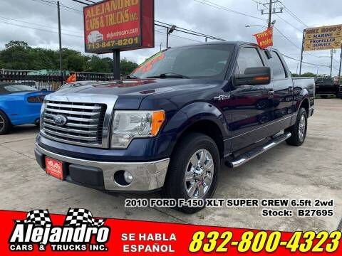2010 Ford F-150 for sale at Alejandro Cars & Trucks Inc in Houston TX