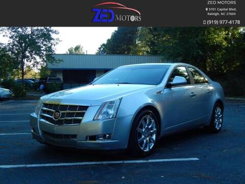 2009 Cadillac CTS for sale at Zed Motors in Raleigh NC