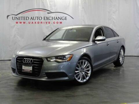 2014 Audi A6 for sale at United Auto Exchange in Addison IL