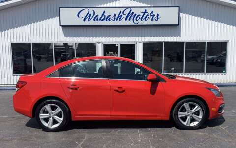 2016 Chevrolet Cruze Limited for sale at Wabash Motors in Terre Haute IN