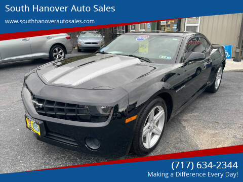 2012 Chevrolet Camaro for sale at South Hanover Auto Sales in Hanover PA