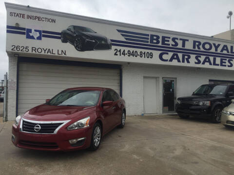 2015 Nissan Altima for sale at Best Royal Car Sales in Dallas TX