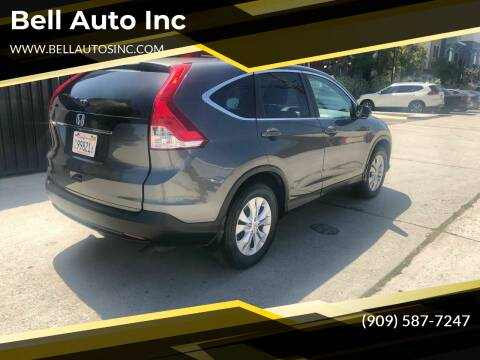 2014 Honda CR-V for sale at Bell Auto Inc in Long Beach CA