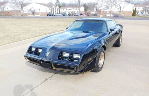 1981 Pontiac Firebird for sale at WEST PORT AUTO CENTER INC in Fenton MO