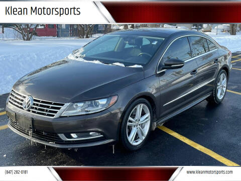 2013 Volkswagen CC for sale at Klean Motorsports in Skokie IL