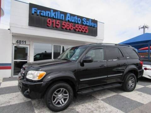 2005 Toyota Sequoia for sale at Franklin Auto Sales in El Paso TX