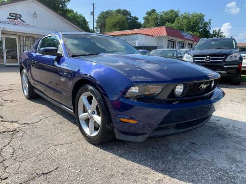 2012 Ford Mustang for sale at SR Motors Inc in Gainesville GA
