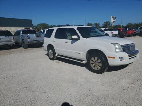 2008 Mercury Mountaineer for sale at Frieling Auto Sales in Manhattan KS