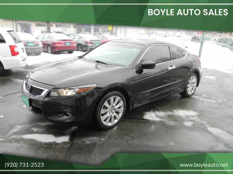 2009 Honda Accord for sale at Boyle Auto Sales in Appleton WI