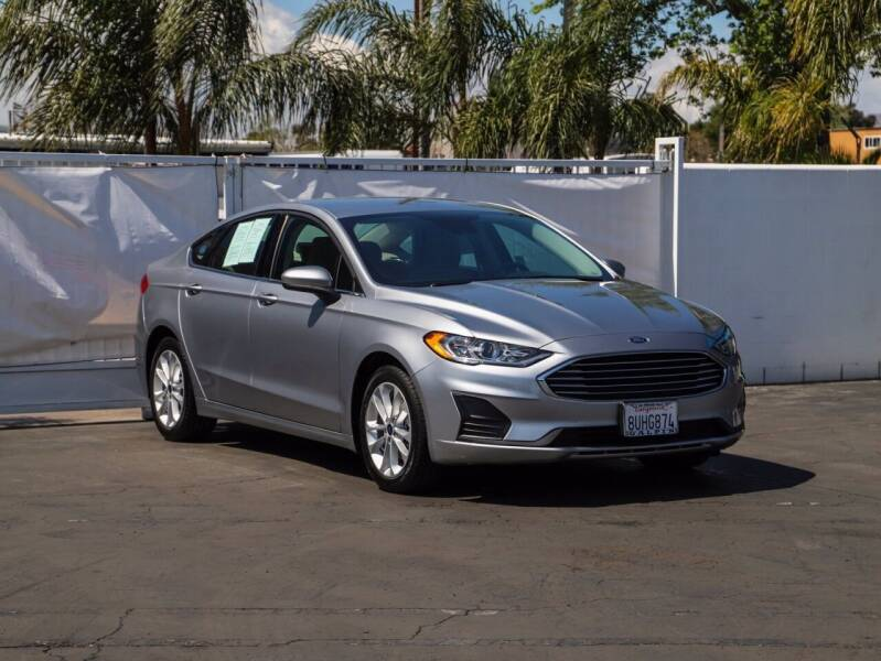 2020 Ford Fusion Hybrid for sale in Van Nuys, CA