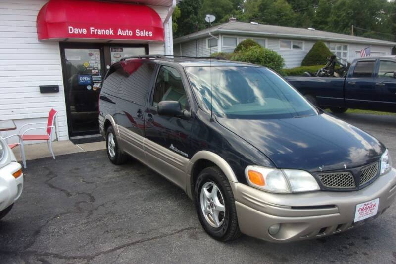 2002 Pontiac Montana for sale at Dave Franek Automotive in Wantage NJ