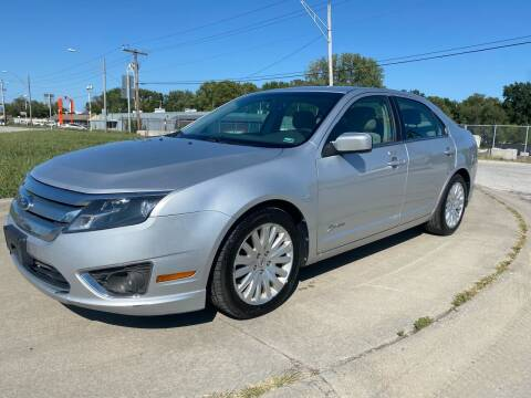 2012 Ford Fusion Hybrid for sale at Xtreme Auto Mart LLC in Kansas City MO