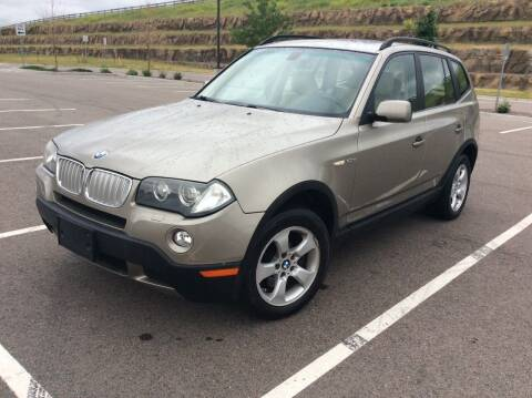 2007 BMW X3 for sale at AROUND THE WORLD AUTO SALES in Denver CO