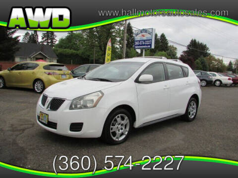 2009 Pontiac Vibe for sale at Hall Motors LLC in Vancouver WA