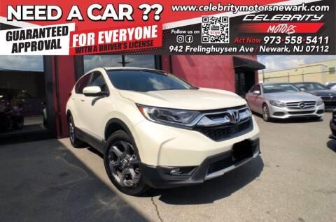 2018 Honda CR-V for sale at Celebrity Motors in Newark NJ