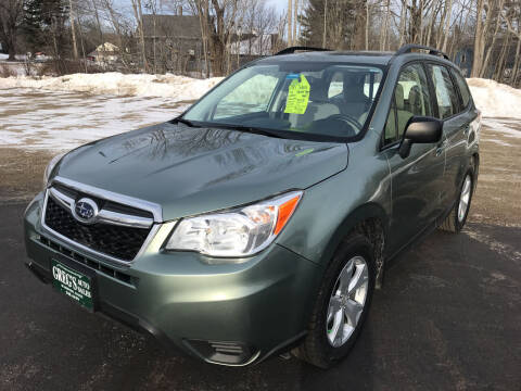 2015 Subaru Forester for sale at Greg's Auto Sales in Searsport ME