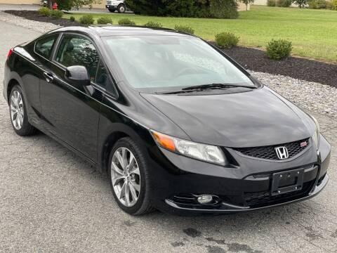 2012 Honda Civic for sale at ECONO AUTO INC in Spotsylvania VA