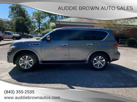 2017 Infiniti QX80 for sale at Auddie Brown Auto Sales in Kingstree SC