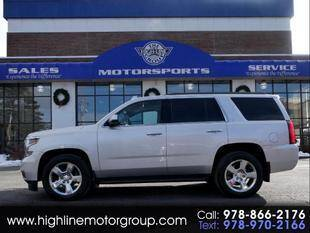 2016 Chevrolet Tahoe for sale at Highline Group Motorsports in Lowell MA