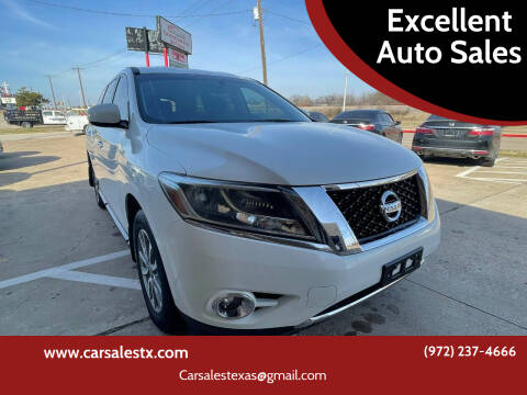 2014 Nissan Pathfinder for sale at Excellent Auto Sales in Grand Prairie TX