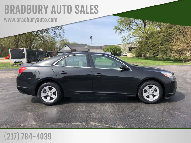 2015 Chevrolet Malibu for sale at BRADBURY AUTO SALES in Gibson City IL