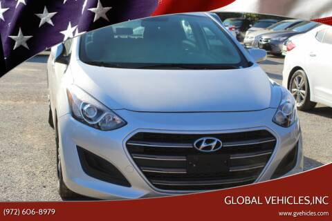 2017 Hyundai Elantra GT for sale at Global Vehicles,Inc in Irving TX