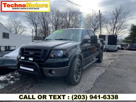 2008 Ford F-150 for sale at Techno Motors in Danbury CT