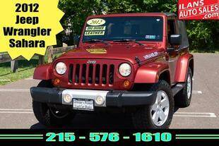 2012 Jeep Wrangler for sale at Ilan's Auto Sales in Glenside PA