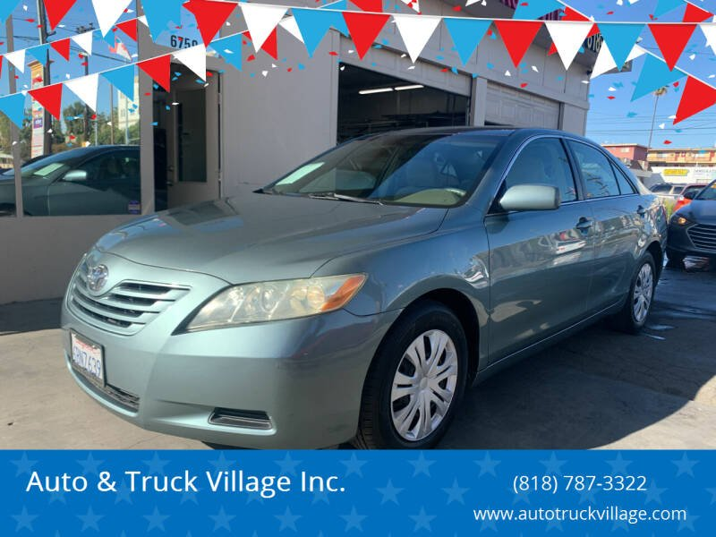 2008 Toyota Camry for sale at Auto & Truck Village Inc. in Van Nuys CA