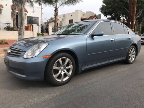 2005 Infiniti G35 for sale at CALIFORNIA AUTO GROUP in San Diego CA