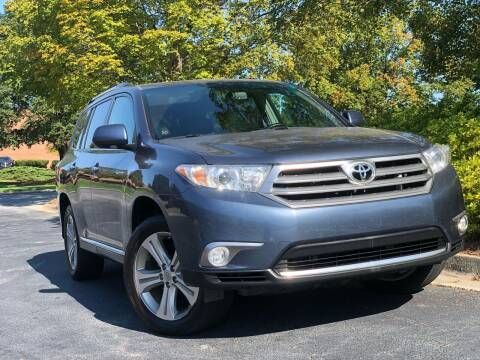 2012 Toyota Highlander for sale at William D Auto Sales in Norcross GA
