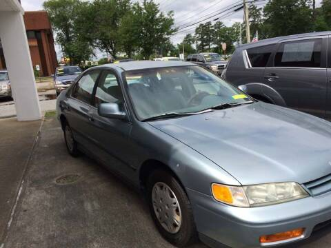 1995 Honda Accord for sale at Gordon Motor Auto Sales Inc. in Norfolk VA