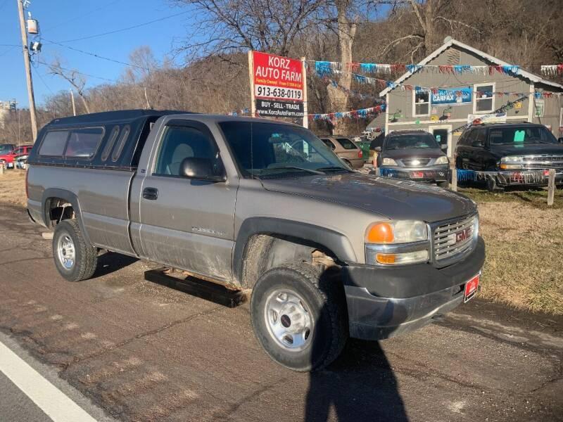 2001 GMC Sierra 2500HD for sale at Korz Auto Farm in Kansas City KS