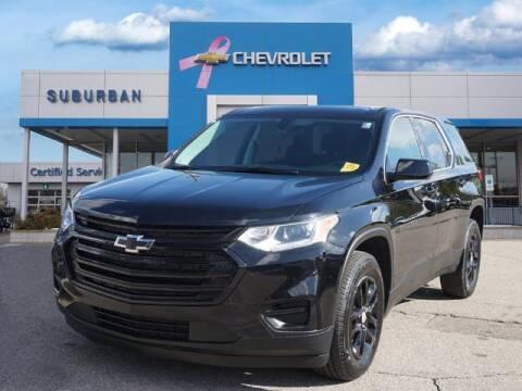 2021 Chevrolet Traverse for sale at Suburban Chevrolet of Ann Arbor in Ann Arbor MI