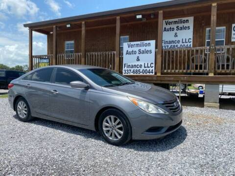 2012 Hyundai Sonata for sale at Vermilion Auto Sales & Finance in Erath LA