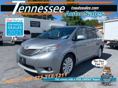 2011 Toyota Sienna for sale at Tennessee Auto Sales in Elizabethton TN