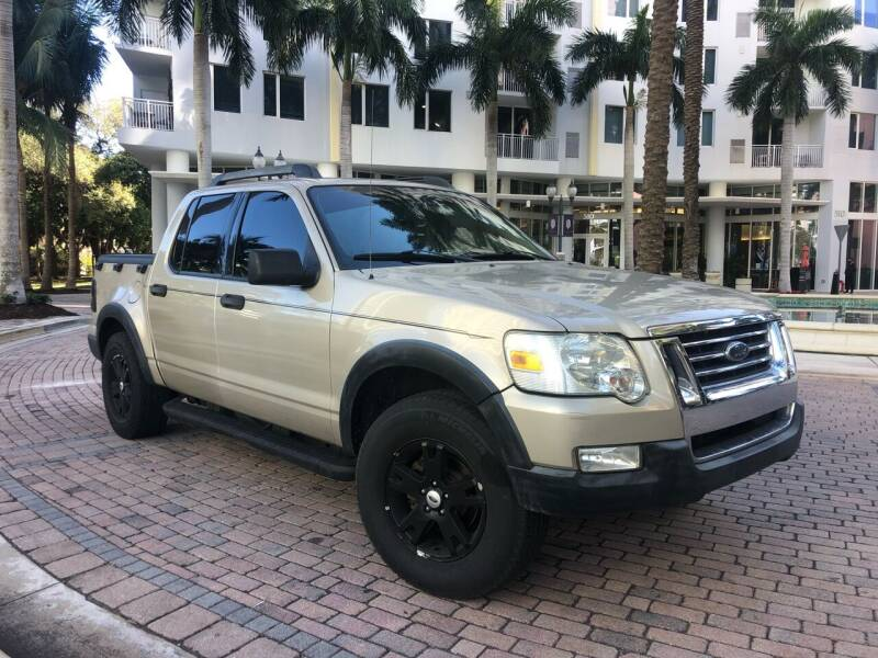 2007 Ford Explorer Sport Trac for sale at Florida Cool Cars in Fort Lauderdale FL