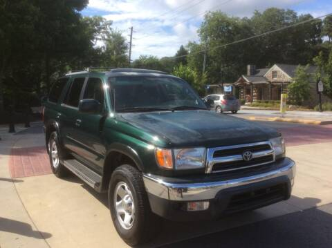 2000 Toyota 4Runner for sale at A LOT OF USED CARS in Suwanee GA
