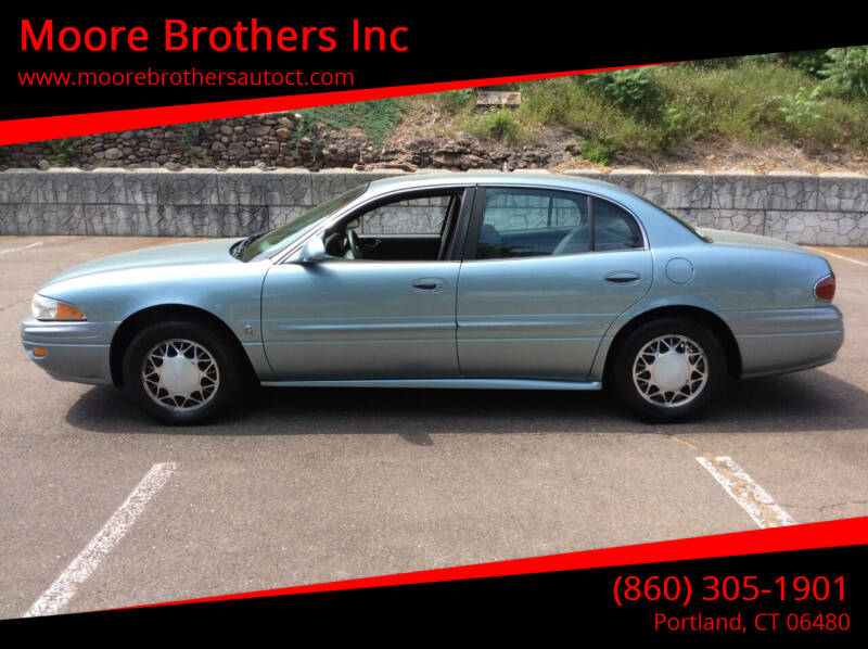 2003 Buick LeSabre for sale at Moore Brothers Inc in Portland CT