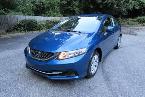 2013 Honda Civic for sale at AUTO FOCUS in Greensboro NC
