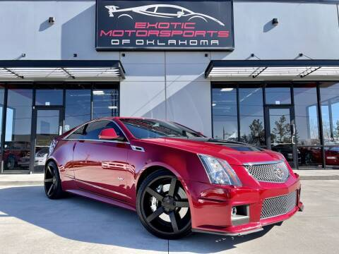 2011 Cadillac CTS-V for sale at Exotic Motorsports of Oklahoma in Edmond OK