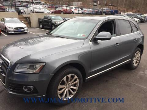 2014 Audi Q5 for sale at J & M Automotive in Naugatuck CT