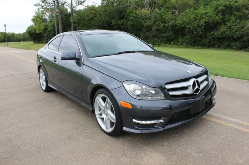 2013 Mercedes-Benz C-Class for sale at Clear Lake Auto World in League City TX