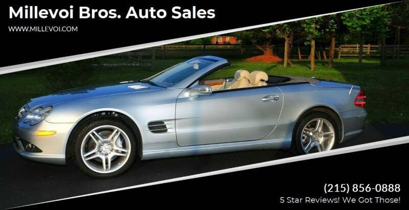 2008 Mercedes-Benz SL-Class for sale at Millevoi Bros. Auto Sales in Philadelphia PA