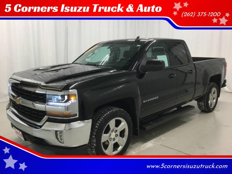 2018 Chevrolet Silverado 1500 for sale at 5 Corners Isuzu Truck & Auto in Cedarburg WI