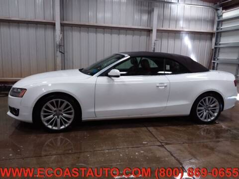 2010 Audi A5 for sale at East Coast Auto Source Inc. in Bedford VA