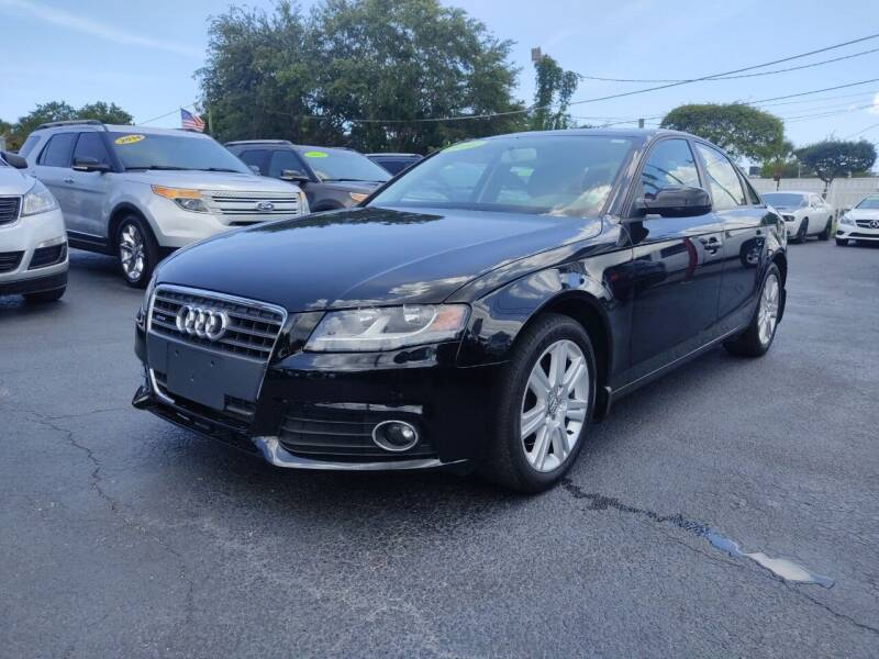 2011 Audi A4 for sale at Bargain Auto Sales in West Palm Beach FL