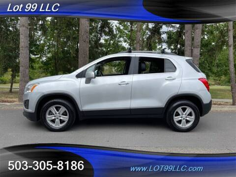 2015 Chevrolet Trax for sale at LOT 99 LLC in Milwaukie OR