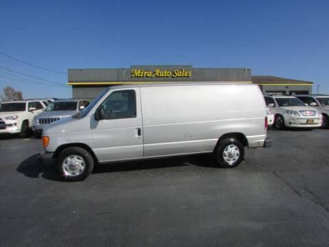 2006 Ford E-Series Cargo for sale at MIRA AUTO SALES in Cincinnati OH